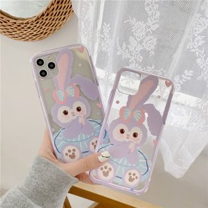 Lovely phone case iPhone11pro max iphone8plus XR creative border protection case