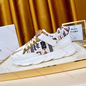 Versace zapatos casuales de alta calidad de cuero genuino xshfbcl 2020Brand. poner un pie los hombres de los zapatos de los hombres respirables de moda zapatos deportivos