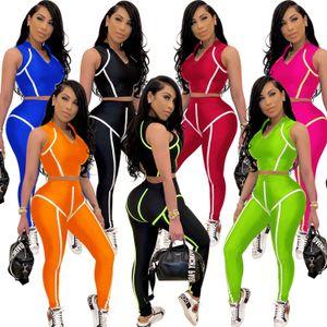 Womens Outfits Short Sleeve 2 Piece Set Tracksuit Jogging Sportsuit Summer Shorts Fitness Sweatshirt Pants Sport Suit Hot Selling