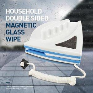 البيت ذو الوجهين الزجاج المغنطيسي مسح الفرشاة مسح نافذة المنزل نظافة الزجاج لغسل النوافذ تنظيف فرش