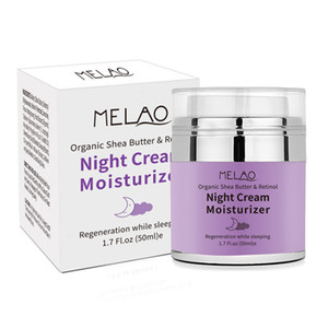 Hohe Qualität Melao Nachtcreme Bio-Retinol Moisturizer Nährende Nachtcreme Hyaluron Nacht Retinol Creme 50g