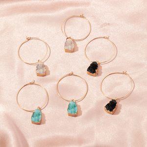 2020 Fashion Resin Acrylic Vintage Dangle Drop Earrings For Women Exquisite Statement Geometric Gold Earrings Wedding Jewelry