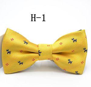 Estilo britânico bebê tarja treliça gravata crianças xadrez Dot gravata moda infantil bonito gravata Hot Kids ajustável arco