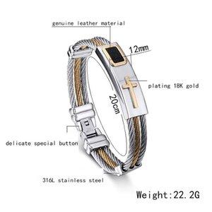 FXM VEE12 Vierfarbenstahlarmband manbracelet neuer Ankunft Modeschmuck beliebtesten Armband für Frauen Geburtstagsgeschenk
