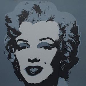ANDY WARHOL Marilyn Monroe Handpainted HD Baskı Ünlü Portre Sanat yağlıboya, Duvar Sanat Ev Dekorasyonu Üzerinde Yüksek Kalite Canva p205
