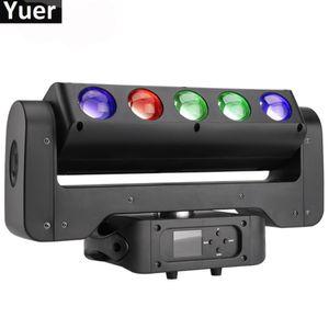 300W doppio lati 5 Occhi LED Moving suono LED luce della testa attivato Auto Esecuzione del partito della fase della discoteca del DJ di effetto della luce
