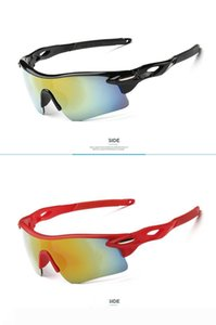 Cheap Wholesale Cycling night vision glasses Designer Outdoor Men Woman Sport Bicycle Sunglasses TR90 Goggles Eyewear Gafas Ciclismo