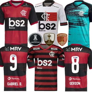 20 21 jersey finale de flamengo 2019 2020 2021 GUERRERO DIEGO VINICIUS JR Maillots de football Flamengo GABRIEL chemise adulte de football de sport