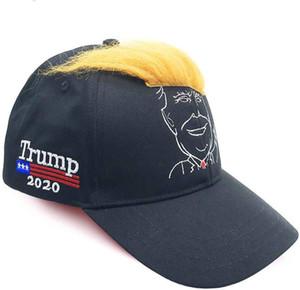 Capelli 2020 Donald Trump Cap Marchio berretto americano Berretto da baseball della visiera ricamo spiaggia dei cappelli di Sun HH9-2977