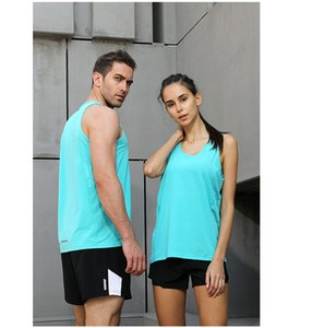Mens Running Vest Gym Sleeveless Shirt Summer Slim Tank XS-3XL 2020 Women Sport Vest Top New Workout Training Man Singlet