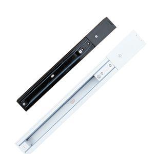 Aluminium Pistes Noir 3FILS 50cm Longueur dur piste rail rigide Article Orbit Strip Connecteur inclus pour Rail d'éclairage LED 100cm Article Orbit