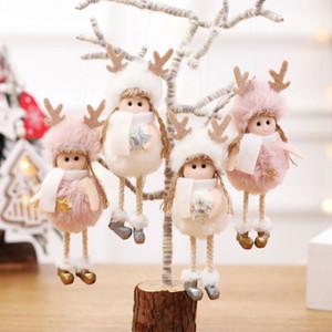 Noël Nouvel An bel arbre ange poupée Pendentifs Artisanat de Noël Cadeaux Ornement Pendentif Hanging festival Ornement d'arbre décor