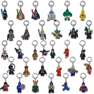 ADEDI = 500 ADET Süper Kahraman Metal Anahtar Zincirleri Sevimli Karikatür Yumuşak Anahtarlık PVC Anime Figürü Anahtarlık Araba Anahtari Aksesuarları Süsler-Ücretsiz DHL