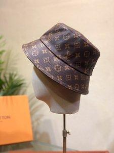 couro Outdoor de alta qualidade cap Bucket Hat mulheres viagem Sun largas tampas Brim Floppy Chapéu de Sol de Verão para as Mulheres Sun Proteção Praia Hat