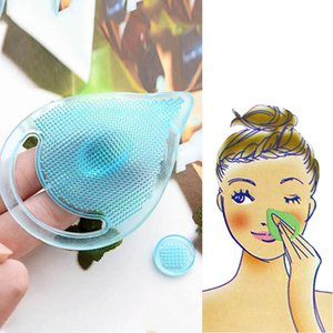 New Face Makeup Blackhead Washing Remover Facial Cleansing Pad Facial Exfoliating Brush Spa Skin Scrub Cleanser Tool BathroomSet