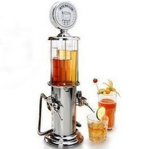 Juice Gas Station 900ml liquore birra alcolica pistola della pompa della barra Famiglia Birra Beverage Dispenser acqua macchina vasellame per bere Pump Gun