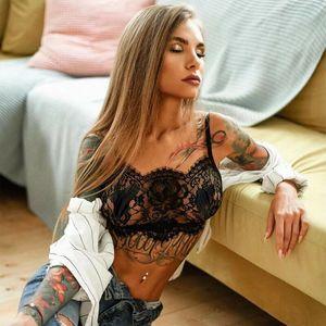 0 envio Senhora sexy Mulheres Macio Lace Bra Sex Set Underwear Pijamas Roupa Sólidos See-Through Clothes