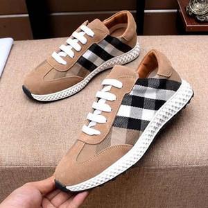 Marka erkekler İnek deri Ayakkabı Sürüş Gommino moccasins ayakkabı Spor Moda Sneakers flats Ekose Bağcık Rahat Ayakkabı, 38-44