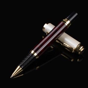Caneta de bola de alta qualidade caneta completa clipe dourado clipe de luxo caneta artigos de papelaria escritório material escolar