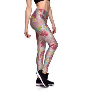 Women's Sexy Sports Leggings For Female High-waist Hip Bottom Pants Running Fitness Yoga Pants Nine-minute Trousers