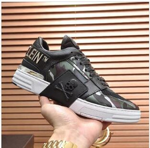 Casual Men Shoes Breathable Comfortable Sneakers Chaussures Pour Hommes Phantom Kick $Lo -Top Camouflage Luxury Men Shoe Sports Drop Ship u1