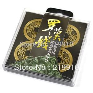 Frete grátis Luohanqian Chinese Coin Define luxo chinês Coin Set (Half Dollar Versão) - Tricks dinheiro mágica