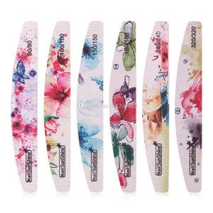File chiodo professionale Flower Nail Polish Buffer blocco di levigatura Nail Art Pedicure Strumenti Salon Sander Accessori