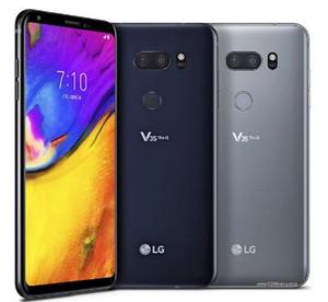"""الأصلي مقفلة LG V35 ThinQ 6.0 """"بوصة 6GB RAM 64GB ROM الروبوت الثماني النواة كاميرا مزدوجة بصمة الهواتف المحمولة تجديدها"""