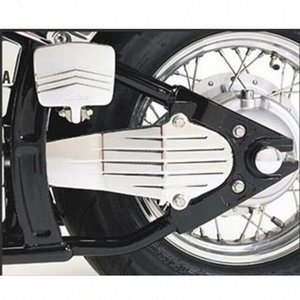 1set Krom ClassicCustom Motosiklet Sürücü Şaft Kapağı İçin V-Star 650 1998-2012 V-Star 1100 1999-2009 Bisiklet Drive Shaft fZwe #