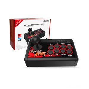 4 in 1 Controller Joysticks Spiel Zubehör Retro Arcade-Station Fighting Stick Spiel Joystick USB Wired Rocker für PS3SwitchP