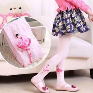 Collant di cotone Collant di cotone Calza principessa Infantile Collant bambina Collant bambina Calze Pp Bottom Ballet Knit Dance Tight