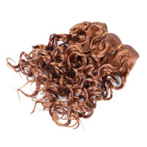 """Marly Bob estensioni dei capelli 8"""" pollici Ombre sintetico Marly arricciatura del Jerry giamaicano rimbalzo Crochet dei capelli 110g / pc Afro crespo ricci Crochet Trecce"""