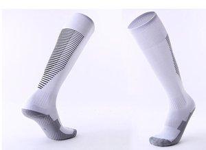 2019 Adult children's non slip over knee football socks thickened towel bottom long tube socks comfortable wear resistant sports socks