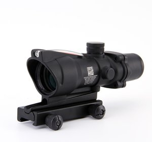 ACOG 4X32 Faserquelle Red Illuminated Scope schwarze Farbe Tactical Jagd Rifle