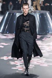 Calças 19FW Andys Europeia Longo Carga Moda à prova de vento snap Calças Streetwear alta qualidade homens casal mulheres Pants HFXHKZ031