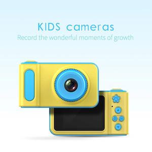 소년 소녀 어린 아이 디지털 카메라 2 인치 LCD 모니터 미니 캠코더 생일 선물 교육 장난감을