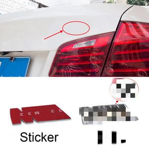 2pcs Car Accessories Emblem Badge For BMW M-Power    M-Power Badge Emblem Sticker Blue Blue Red Metal Logo Sticker Badge