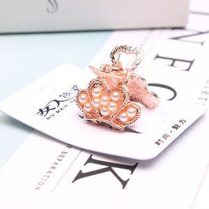 Neue produktliste koreanisch heißer verkauf frauen haargreifer großhandel maßgeschneiderte perle haargreifer strass haargreifer