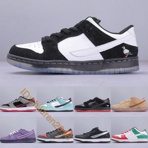 Erkekler Kadınlar Tasarımcı Deniz Kristal Mor Istakoz Cinco de Mayo Paten Spor ayakkabılar Boyutu 36-45 İçin SB Dunk Düşük Zımba Panda Güvercin Günlük Ayakkabılar