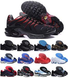 Дизайн 2020 оригинал и Tn Prm Мужчины Повседневная обувь WMNS AIR Спорт Плюс Tn Se Black White Chaussures Tn Запуск Trainer люкс тапки