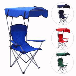Mochila acampar al aire libre ligero dosel silla de pesca portátil plegable sombrilla de playa sillones alza plegable taza reposapiés