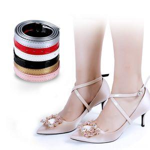 Bundle Shoelace for Women High Heels suspender Holding Loose Antiskid brace Straps Lace Suspenders Belts & Accessories Shoes Band Shoe Acces