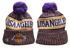 2019 cappelli di moda unisex primavera uomo invernali donne lavorato a maglia Beanie cappello di lana Uomo Knit Bonnet pallacanestro Berretti Gorro addensare Warm Cap