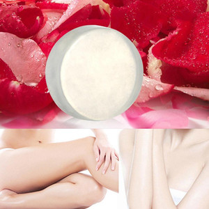 Soap Natural Active Plant Extract Nipple Intimate Enzyme Crystal Bath Transparent Shower Bleaching Soap TSLM1