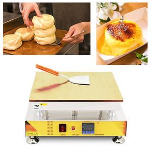Recette de crêpes japonaises moelleuses numériques Souffler Maker Souffle machine 110v 220v taiwanais Souffle