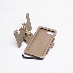 Nueva llegada Tactical Molle Plus Funda móvil Equipo de caza para exteriores Caja de teléfono de Shell de Paintball Iphone 7/8 Plus