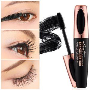 New Long Curling mascara Makeup Eyelash Black Waterproof Fiber Mascara Eye Lashes makeup 4d silk fiber eyelash 3d