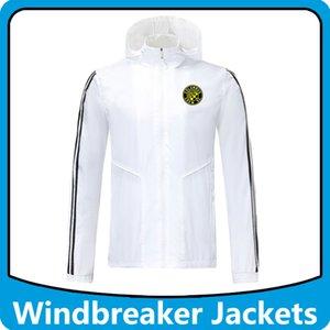 Columbus Crew de la MLS rompevientos fútbol chaquetas sudaderas con capucha Deportes, Columbus capucha cremallera rompevientos abrigo de invierno de fútbol Correr chaquetas