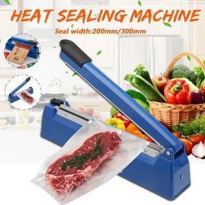 200mm / 300mm Impulse Sealer thermoscellage machine Cuisine alimentaire Scellant Sac vide Scellant Sac en plastique Outils d'emballage 220 V 50/60 HZ
