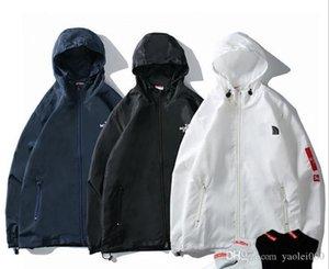 Мужские роскошные тонкие куртки осень прилив бренд повседневная спортивная куртка лямки двухслойная молния тонкая повседневная ветровка